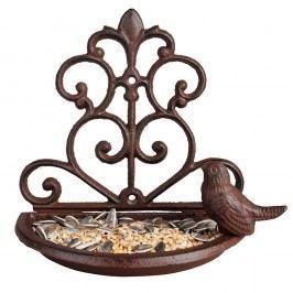 Suport din fontă pentru hrănit păsări Esschert Design, lățime 18,3 cm