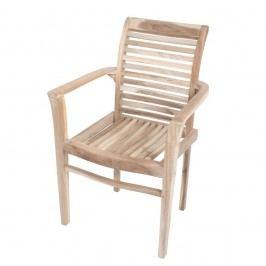Scaun de grădină din lemn de tec ADDU Java