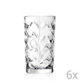 Set 6 pahare RCR Cristalleria Italiana Abelie