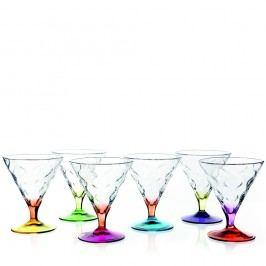 Set 6 pahare pentru înghețată RCR Cristalleria Italiana Norma