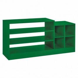 Bibliotecă Woodman Volta Small, verde