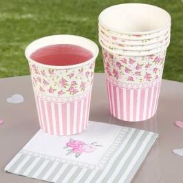 Set 8 pahare din hârtie Neviti Frills and Spills
