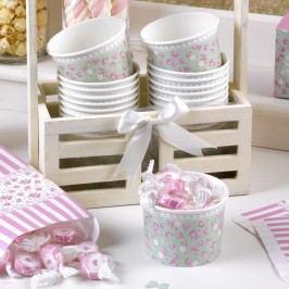 Set 8 cupe din hârtie pentru dulciuri Neviti Frills and Spills