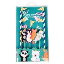 Set pentru decorat tortul Rex London Party Animals