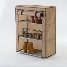 Pantofar textil cu 3 etaje Compactor Shoes, bej