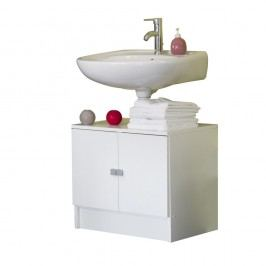 Dulap baie pentru chiuvetă Symbiosis André, alb
