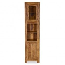 Dulap înalt pentru baie din lemn de palisandru Woodking Lee