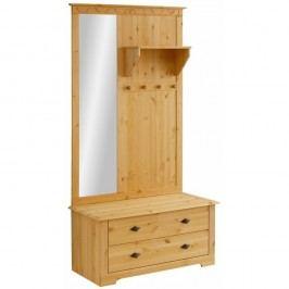 Mobilier din lemn de pin pentru hol Støraa Lando Compact