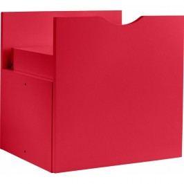 Sertar dublu pentru raft Støraa Kiera, 33 x 33 cm, roșu