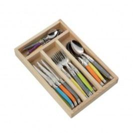 Set 24 tacâmuri în cutie din lemn Jean Dubost Trendy