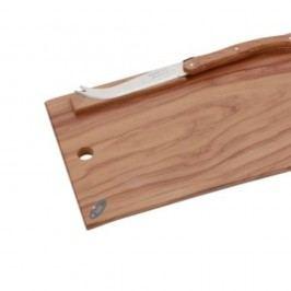Set cuțit pentru brânzeturi și platou din lemn Jean Dubost