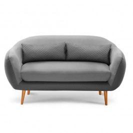 Canapea cu 3 locuri Meteore, gri/ gri deschis
