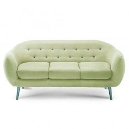 Canapea pentru 3 persoane Constellation Pistachio Green/Turquoise/Turquoise
