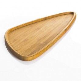 Farfurie servire din bambus Bambum Viego Triangle L