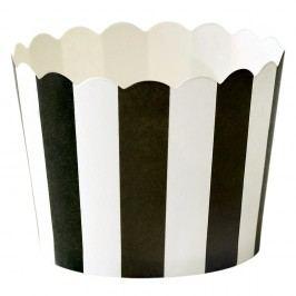 Set 24 coșulețe hârtie pentru copt Miss Étoile Stripe