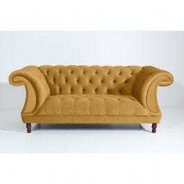 Canapea cu 2 locuri Max Winzer Ivette, galben muștar