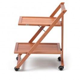 Măsuță mobilă din lemn de fag Arredamenti Italia Simpaty, maro