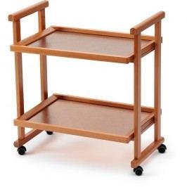 Măsuță mobilă din lemn de fag Arredamenti Italia Anthony, maro