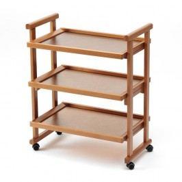 Măsuță mobilă din lemn de fag Arredamenti Italia Gregory,maro