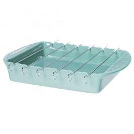 Tavă pentru frigărui Côté Table Carmin BBQ, albastru