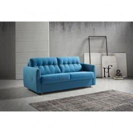 Canapea extensibilă Suinta Como, lățime 170 cm, albastru