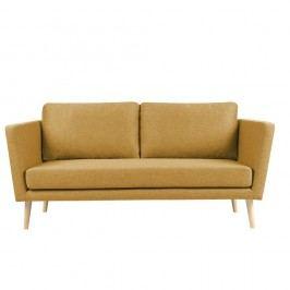 Canapea cu 3 locuri Mazzini Sofas Cactus, galben