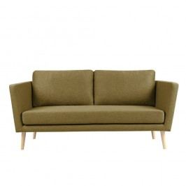 Canapea cu 3 locuri Mazzini Sofas Cactus, auriu