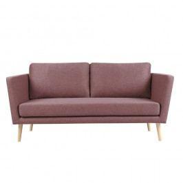 Canapea cu 3 locuri Mazzini Sofas Cactus, roz