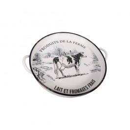 Farfurie pentru brânzeturi Antic Line, alb