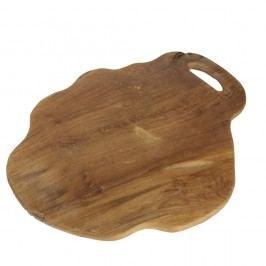 Tocător din lemn de tec HSM Collection Flate L