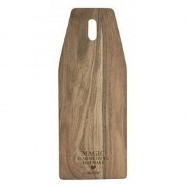 Tocător din lemn de salcâm Miss Étoile, 20 x 50 cm