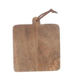 Tocător din lemn de mango J-Line Mango, 20 x 32 cm