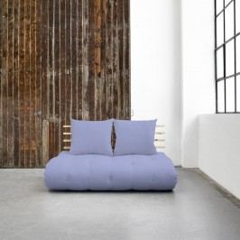 Canapea extensibilă Karup Shin Sano Natural/Blue Breeze