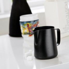 Latieră din metal Steel Function Milk Black, 150 ml