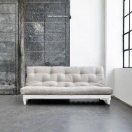Canapea extensibilă Karup Fresh White/Vision
