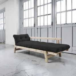 Canapea extensibilă Karup Step Natural/Grey