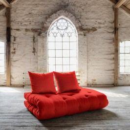 Canapea extensibilă Karup Shin Sano Natur/Red