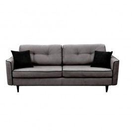 Canapea extensibilă Mazzini Sofas Magnolia, gri închis