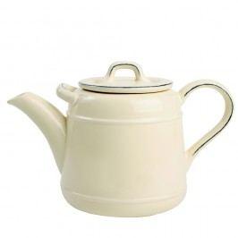 Ceainic din ceramică T&G Woodware Pride of Place, 1,5 l, crem