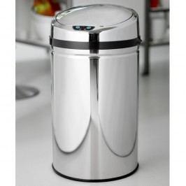 Coș de gunoi cu deschidere automată Steel Function Rimini, 30 l
