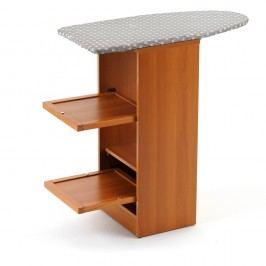 Masă de călcat pliabilă, cu sertare din lemn de fag Arredamenti Italia Stirallegro