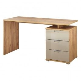 Birou, decor lemn de stejar Germania Desk, bej