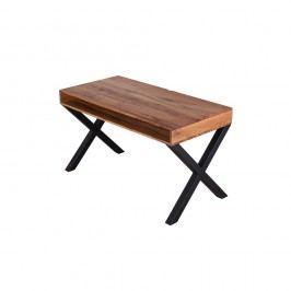 Băncuţă din lemn de stejar Flame furniture Inc. Typewriter
