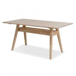 Masă din lemn de mesteacăn Kiteen Notte, 75 x 140 cm
