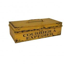 Cutie depozitare Antic Line Courrier cu expendier