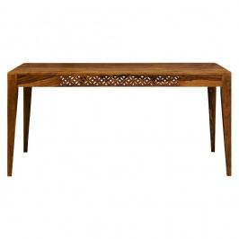 Masă dining din lemn de palisandru Massive Home Rosie, 90 x 175 cm