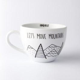 Cană FOR.REST Let´s Move Mountains, 500 ml