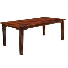 Masă dining din lemn sheesham Knuds India, 180 x 90 cm