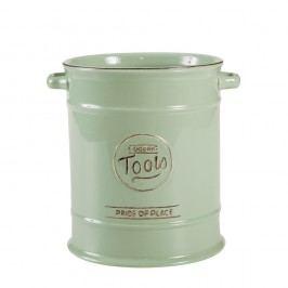 Recipient ceramic pentru ustensile de bucătărie T&G Woodware Pride of Place, verde