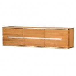 Comodă din lemn de stejar cu 3 uși Szynaka Meble Torino